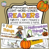 Autumn Fall Halloween PreEmergent Readers