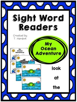 Sight Word Reader - My Ocean Adventure