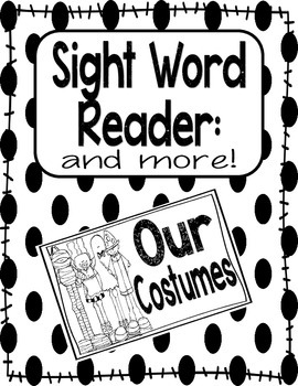 Sight Word Reader PLUS MORE-OUR (Halloween)