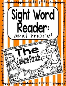 Sight Word Reader PLUS MORE-The (Halloween)