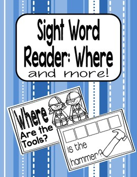 Sight Word Reader PLUS MORE-Where