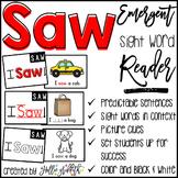 Sight Word Reader: Saw