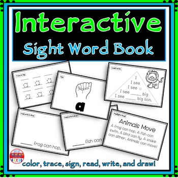 Sight Word Activity - Sight Word Book - A