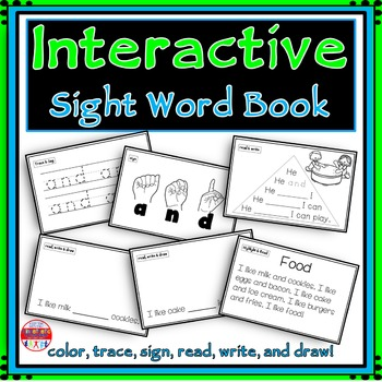 Sight Word Activity - Sight Word Book - AND