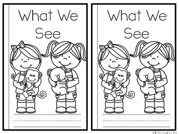 Sight Word Reader {We}