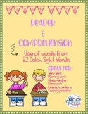 Sight Word Reader and Comprehension Pack