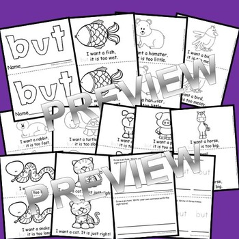 Sight Word Reader BUT