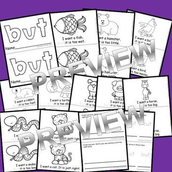 Sight Word Fluency Reader BUT