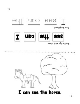 Sight Word Reader - can, see, I, the