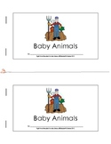 Sight Word Reader (my, can) about Baby Animals