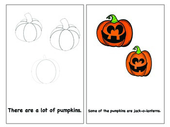 Sight Word Reader of Halloween Theme