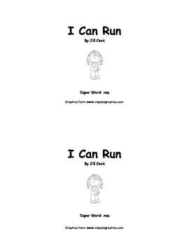 Sight Word Reader - run