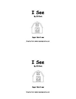 Sight Word Reader - see