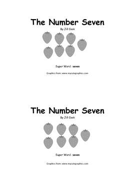 Sight Word Reader - seven