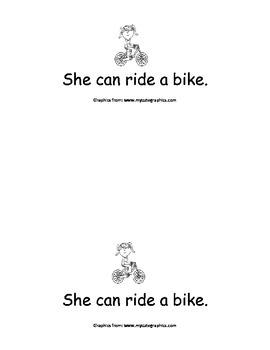Sight Word Reader - she