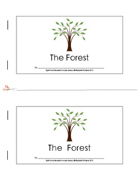 Sight Word Reader (the) about Woodland Animals