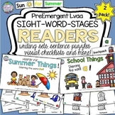 Sight Word Leveled Readers and Activities: Summer and Scho