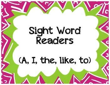 Sight Word Readers