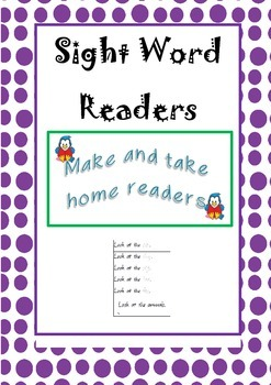 Sight Word Readers