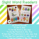 Sight Word Readers {Level PreA and 1 early readers}