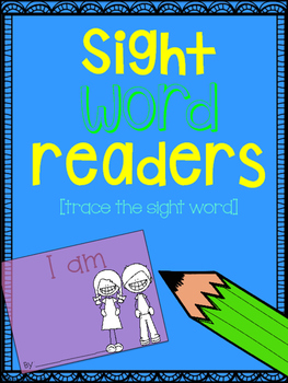Emergent sight word books