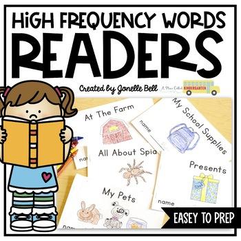 Kindergarten Sight Word Readers