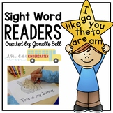Kindergarten Sight Word Readers