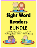 Sight Word Readers (BUNDLE of Levels A -D)