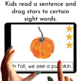 Sight Word Readers   Emergent Reader   Fall