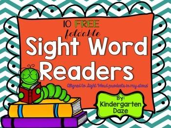 Sight Word Readers Freebie