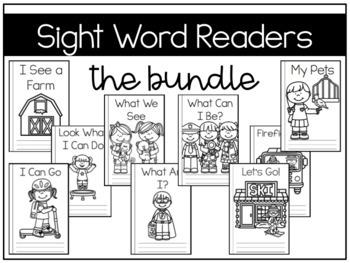 Sight Word Readers {Growing Bundle}