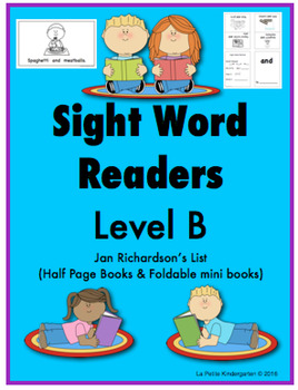 Sight Word Readers (Level B)