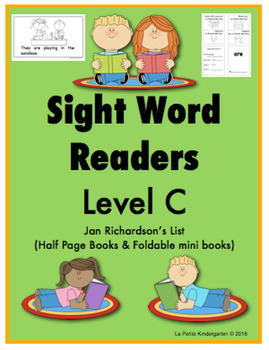 Sight Word Readers (Level C)