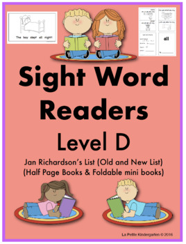 Sight Word Readers (Level D)