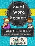 Sight Word Readers MEGA BUNDLE 2 ~Set of 38 6-page Readers~ CC Aligned!