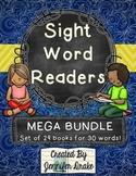 Sight Word Readers MEGA BUNDLE ~Set of 29 6 page Readers~ CC Aligned