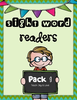 Sight Word Readers Pack 1 {I, like, the, and, see, we, a, to}