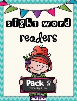 Sight Word Readers Pack 2 {come, me, with, my, you, what, are, now}