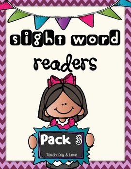 Sight Word Readers Pack 3 {is, of, many, how, so, where}