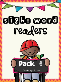 Sight Word Readers Pack 4 {find, from, but, this, came, on}