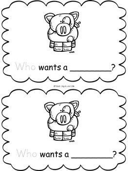 Sight Word Readers Pack 5 {will, into, your, be, that, who}
