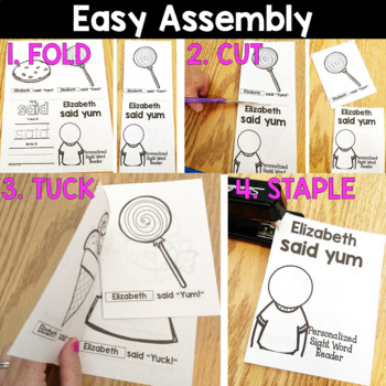 Sight Word Readers: Personalized Set 1