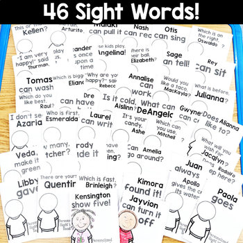 Sight Word Readers: Personalized Set 4