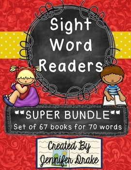Sight Word Readers SUPER BUNDLE