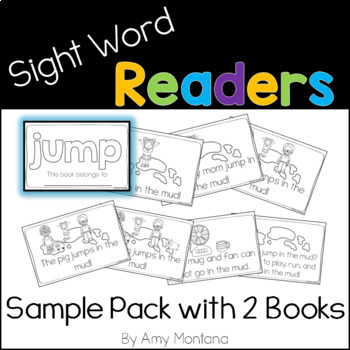 Sight Word Readers {Sample Pack with 2 Books}