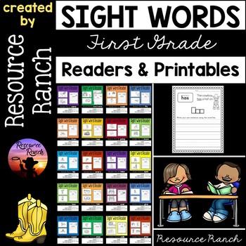 Sight Word Readers and Printables Bundle