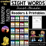Sight Word Readers and Worksheets