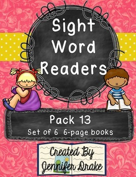 Sight Word Readers- Supporting Reading & Writing In Your C