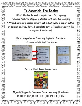 Sight Word Readers- Supporting Reading & Writing in Your Classroom- Pack 6