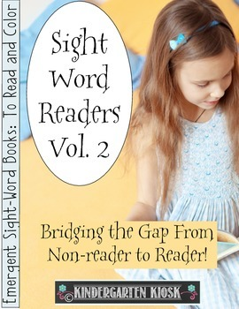 Sight Word Readers Volume 2